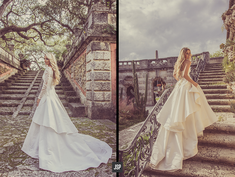 Eileen Daniels Post Wedding Portrait Session At Vizcaya Museum In Miami
